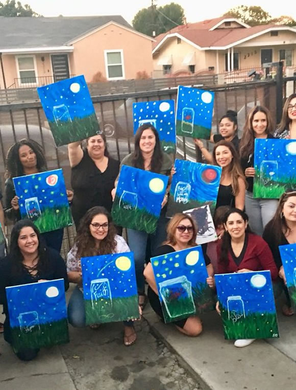 Family Paint Night Near Me
