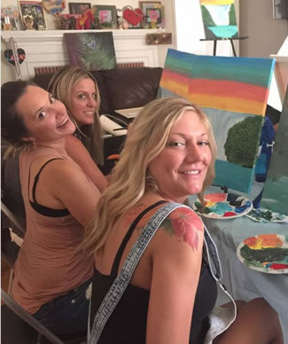 Painting Party Event